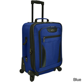 Travelers Choice U.S. Traveler Charleville 20-inch Carry-on Spinner Suitcase Deals