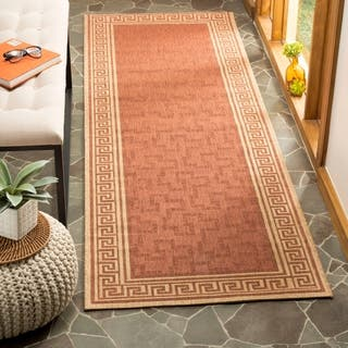 Martha Stewart By Safavieh Byzantium Terracotta Beige Indoor Outdoor Rug 2 7