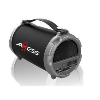 Axess Hi-fi Bluetooth 4-inch Subwoofer/Vibrating Disk 2.1 Speaker