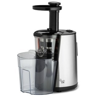 Chef's Star MSJ 501 Black Slow-Speed Button-Control Juicer