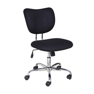 Comfort Products 60-2018 Mid-Back Black Mesh Task Chair