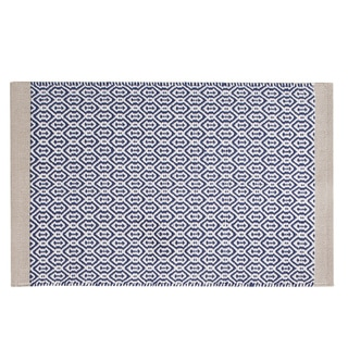 INK+IVY Charlie Woven Cotton Rug 3-color option