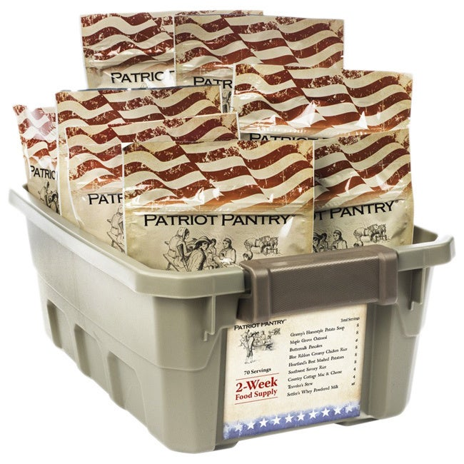 Patriot 2-week Emergency Food Supply 25-year Shelf Life, ...