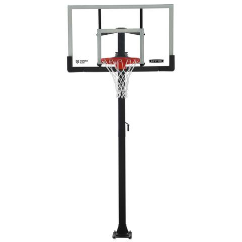 60-inch Bolt-down Basketball System