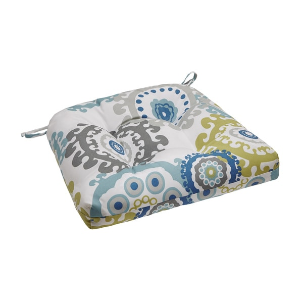 Madison Park Carmel Printed Medallion 3M Scotchgard Outdoor Cushion