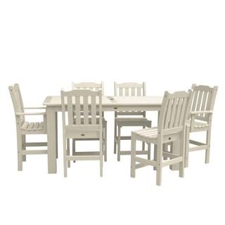 Lehigh 7-piece Rectangular Counter-height Dining Set