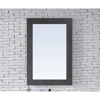 Metropolitan Silver Oak 30-inch Mirror - Brown - A/N