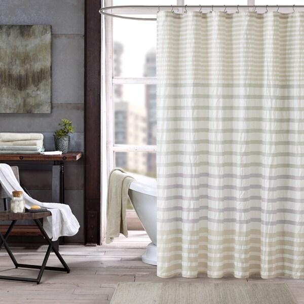 INK+IVY Sutton Multi 100-percent Cotton Shower Curtain