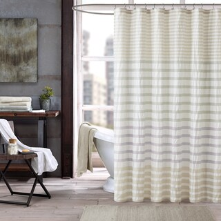 INK+IVY Sutton Multi 100-percent Cotton Shower Curtain