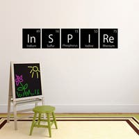 Inspire Periodic Table Wall Decal (60-inch wide x 11.5-inch tall)