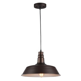Chloe Transitional 1-light Oil Rubbed Bronze Pendant
