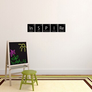 Inspire Periodic Table Wall Decal (36-inch wide x 7-inch tall)