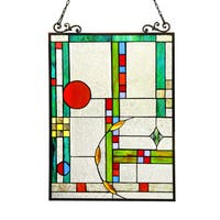 Chloe Tiffany Style Window Panel/Suncatcher - M