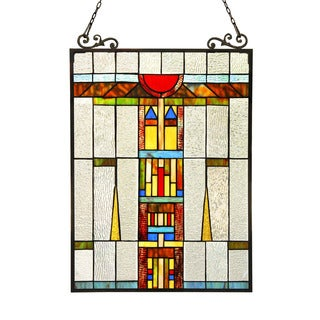 Chloe Tiffany Style Window Panel/Suncatcher