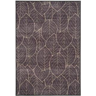 Safavieh Martha Stewart Collection Charcoal/ Multi Viscose Rug (8' x 11' 2)
