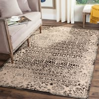 Safavieh Brilliance Vintage Cream/ Dark Grey Distressed Rug - 9' x 12'