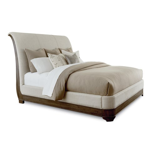 A.R.T. Furniture St. Germain Upholstered Platform Sleigh Bed