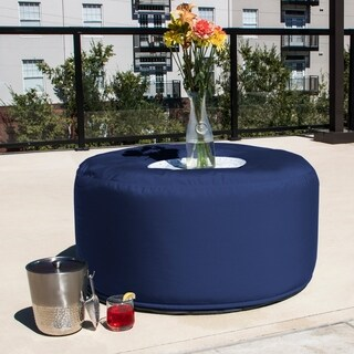 Jaxx Lenox Outdoor Patio Bean Bag Coffee Table (Option: Taupe)