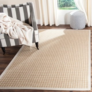 Safavieh Casual Natural Fiber Handmade Light Grey Sisal Rug (9' x 12')
