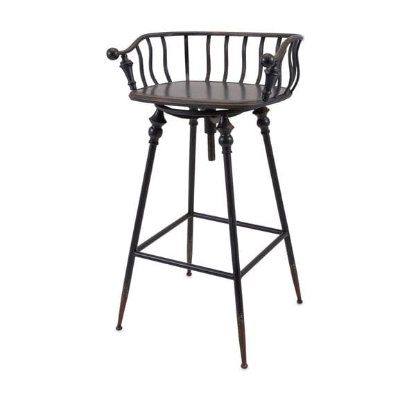 Crestly Metal Bar Chair Free Shipping Today Overstock  : Crestly Metal Bar Chair ebc0105e b64a 4c95 9a86 127607410d1f600 from www.overstock.com size 600 x 600 jpeg 14kB