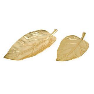 Parson Aluminum Leaf Trays - Set of 2