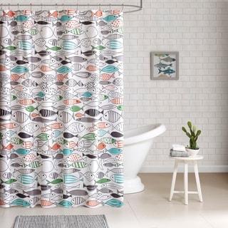 novelty shower curtains. HipStyle Madfish Cotton Printed Shower Curtain Novelty Curtains