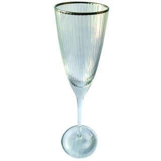 Clear Flute Champagne Glass