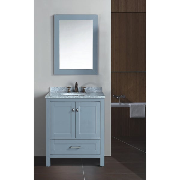 Zenith Bathroom Cabinets: Zenith Bathroom 30-inch Solid Wood With Double-layer