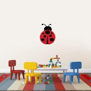 Printed Ladybug Wall Decal