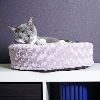 FurHaven Cup-style Pet Bed Lounger