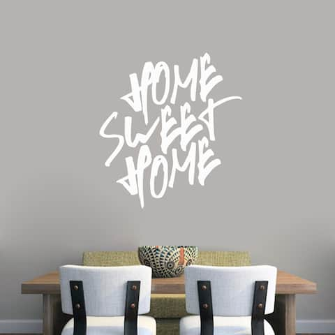 Home Sweet Home' 33 x 36-inch Wall Decal