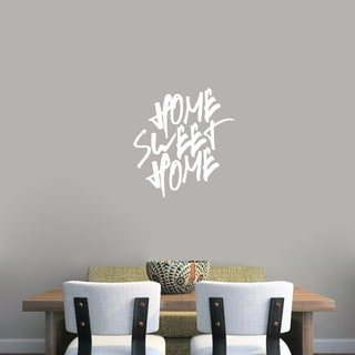 Superior Home Sweet Home Wall Decal (22 Inch Wide X 24 Inch Tall)