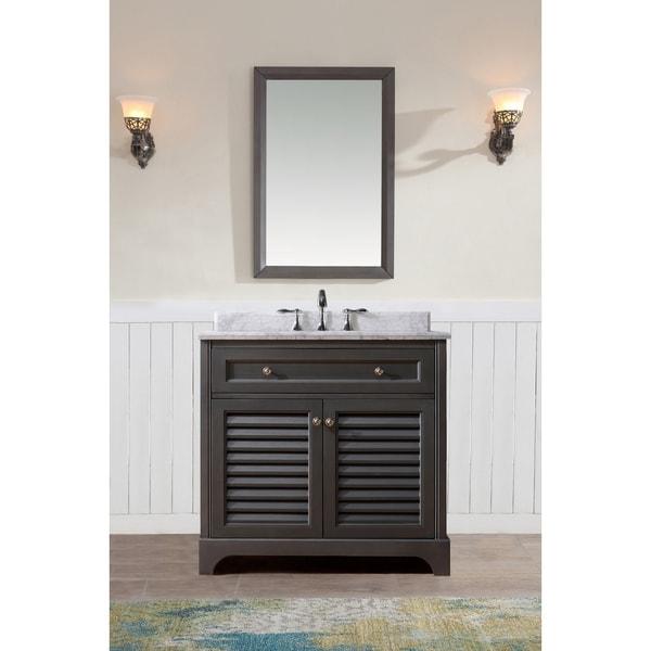 Shop Ari Kitchen And Bath Madison 36 Inch Single Bathroom Vanity Set