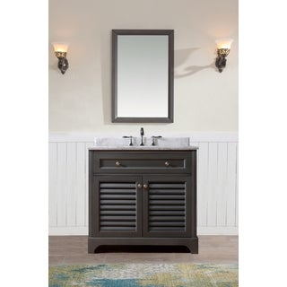 Ari Kitchen and Bath Madison 36-inch Single Bathroom Vanity Set