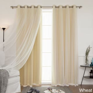 Buy Yellow Sheer Curtains Online at Overstock  c9b76dfb21a4