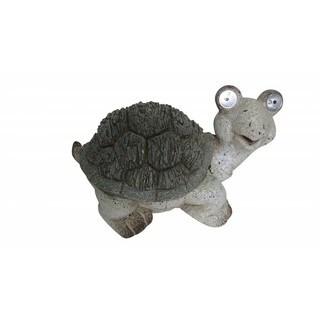 10-inch Solar Turtle Statue