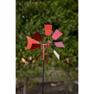 Red Metal 52-inch Windmill Stake