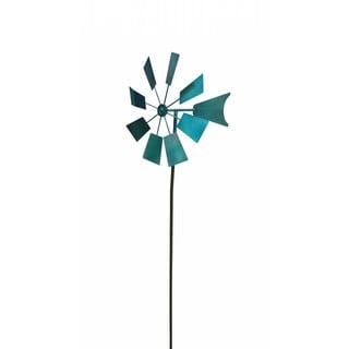 Blue Metal 52-inch Windmill Stake