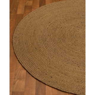 Hand Woven Pebbles Jute Rug, 6' Round