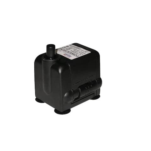 Power Head Plastic 120 GPH Pump 120 GPH With a 6-foot Cord