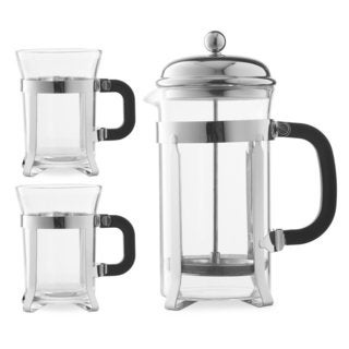 Chef's Star Premium 34-ounce French Coffee Press (Set of 2)