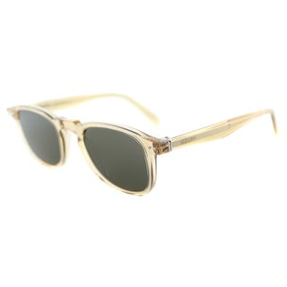 Celine CL 41400 HAM Champagne Plastic Square Brown Lens Sunglasses