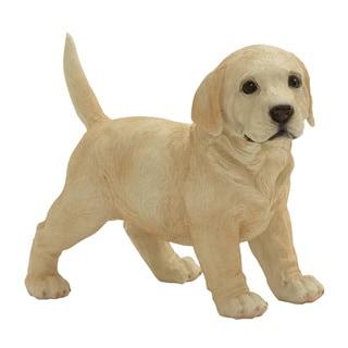 Beige Dog statue