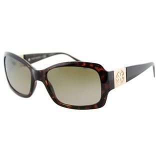 Tory Burch TY 9028 51013 Tortoise Plastic Rectangle Khaki Gradient Lens Sunglasses