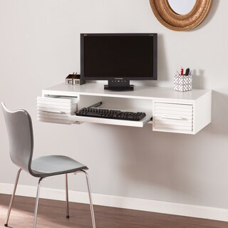 Harper Blvd Shaw White Wall-mount Desk