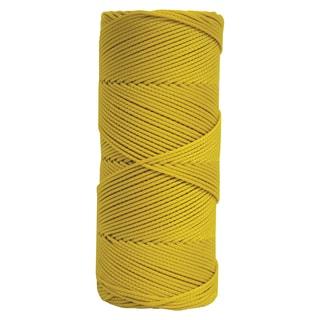 Yellow Braided Mason's Line - 500' Tube