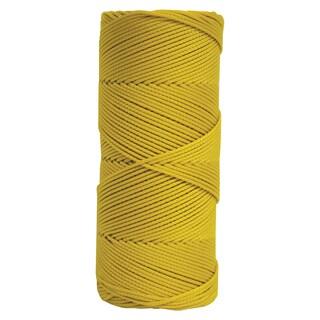 Yellow Braided Mason's Line - 250' Tube