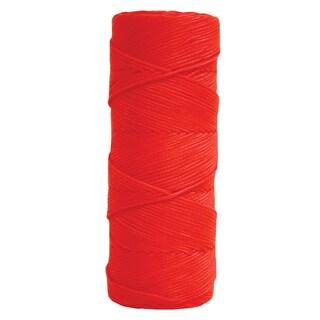 Fluorescent Orange Braided Mason's Line - 1000' Tube