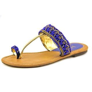 Mia Heritage Women's 'India' Leather Sandals