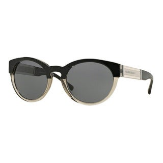 Burberry Women's BE4205 355887 Black Plastic Phantos Sunglasses
